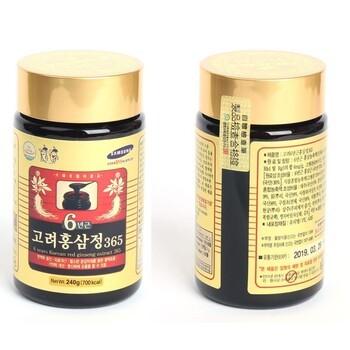 женьшень корея 6 летний корень экстракт красный купить ginseng red 365