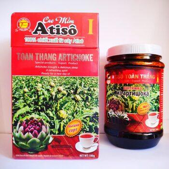 артишок смола экстракт смола жижа вьетнам в банке купить из цветков оригинал далат atiso thoan thang