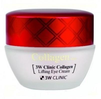 Крем для век с коллагеном ЛИФТИНГ «3W CLINIC» Collagen Lifting Eye Cream, Корея, 35 мл
