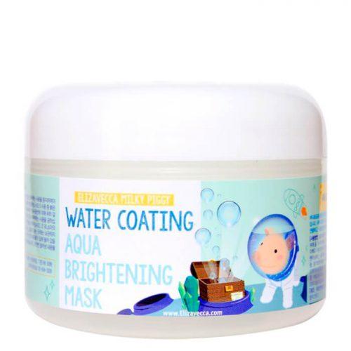 Маска для лица ночная УВЛАЖНЕНИЕ «Elizavecca»Water Coating Aqua Brightening Mask, Корея,100 мл